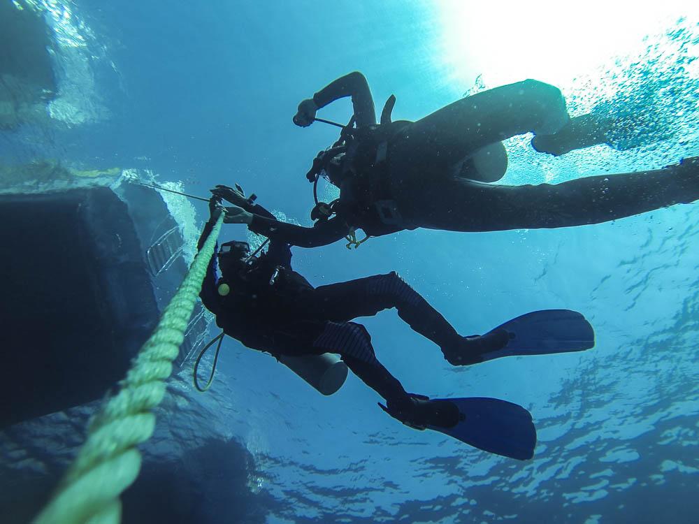 Go Pro Hero 3 Unterwasserfoto  ohne Farbkorrektur.