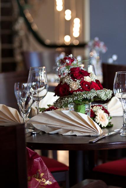 Hochzeitsfeier Ambiente