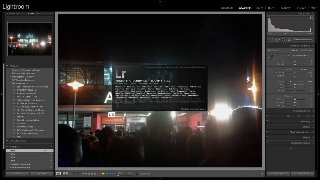 Lightroom 4 Beta